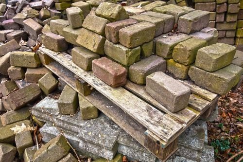 bricks stone building material