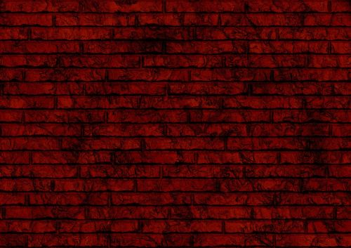 bricks red pattern