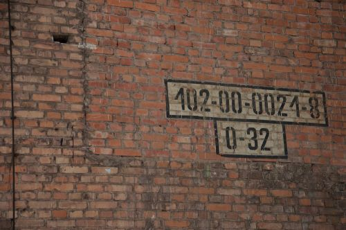 bricks dirty old