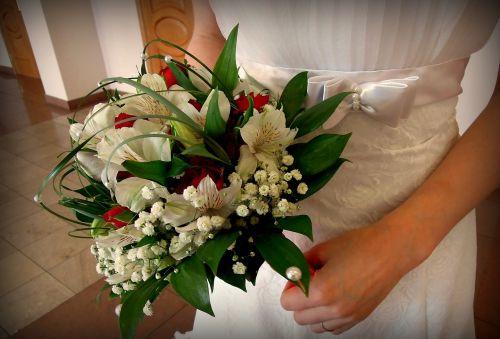 bridal bouquet wedding bride