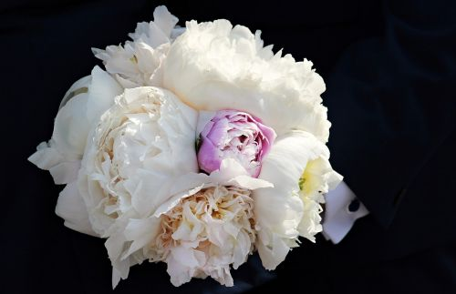 bridal bouquet peony bouquet