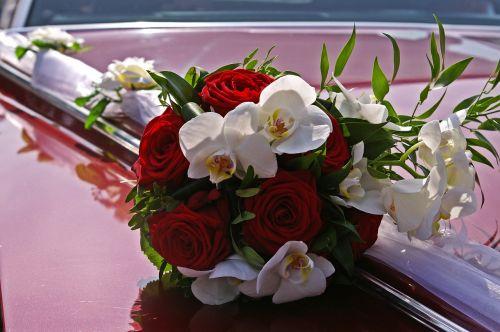 bridal bouquet marry wedding