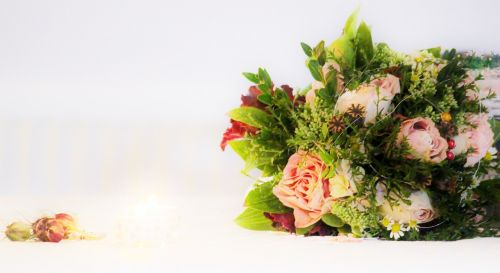 bridal bouquet wedding marriage