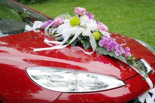 bridal car wedding limousine
