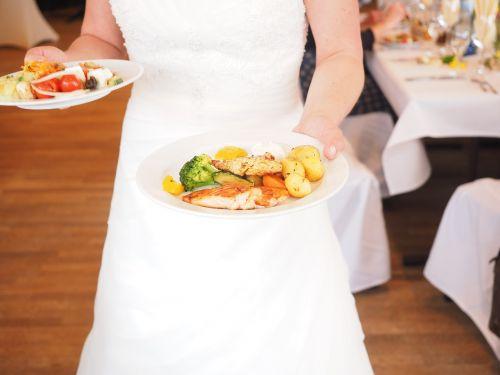 bride eat menu