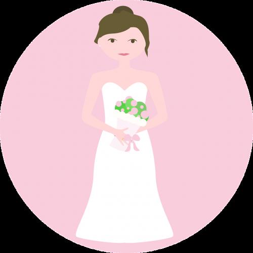 bride wedding before