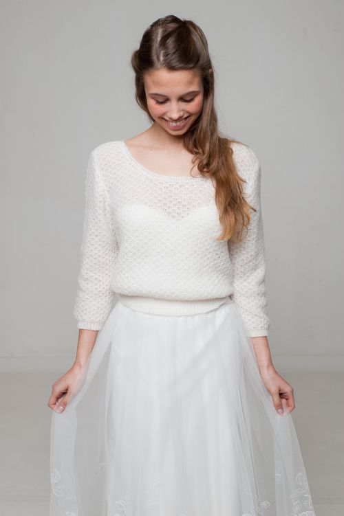 bride bride-to-be sweater knitting sweater