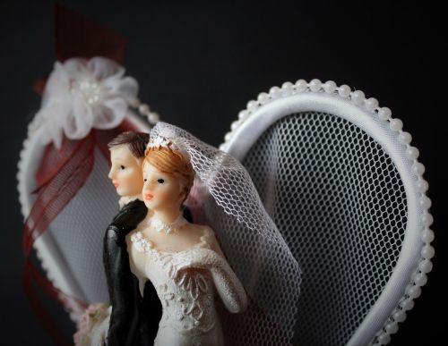 bride and groom wedding marry