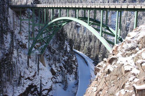 bridge red cliff colorado colorado