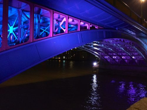 bridge river thames london