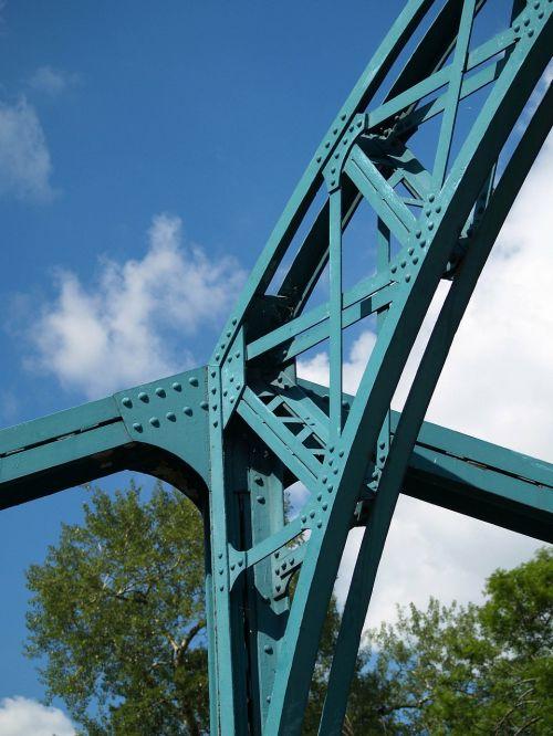 bridge building metal