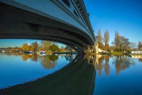 bridge reflexion river