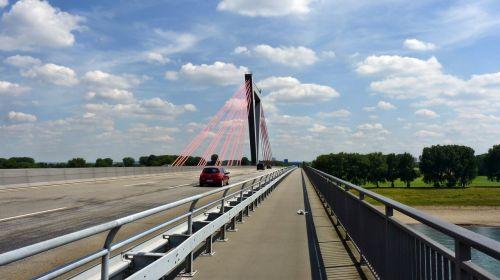 bridge düsseldorf rhine