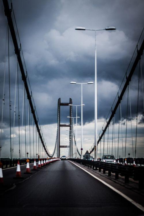 bridge sky cloud