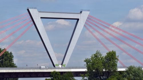 bridge steel cables suspension bridge