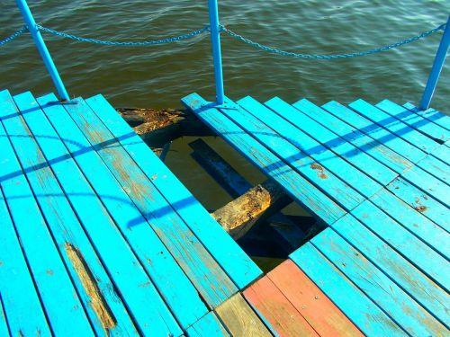 bridge lake pond