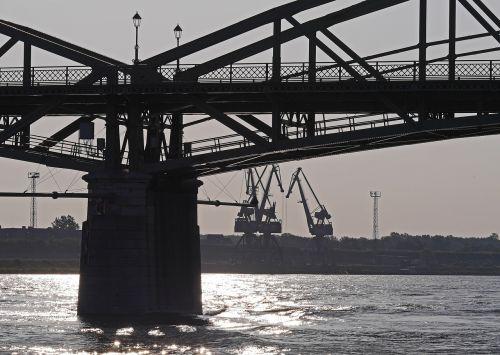 bridge cranes port