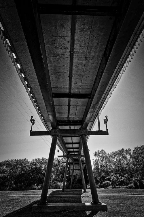 bridge span suspension