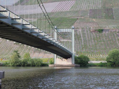bridge suspension bridge wehlen