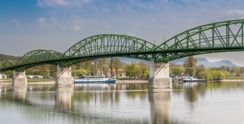 bridge the bridge in the scanning tunneling potentiometry system the bridge in esztergom