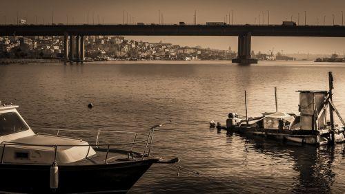bridge marine landscape