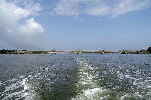 bridge estuary river