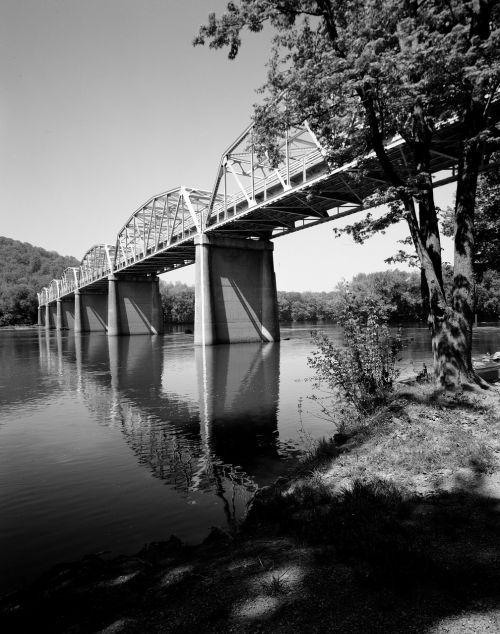 bridge river bridge building