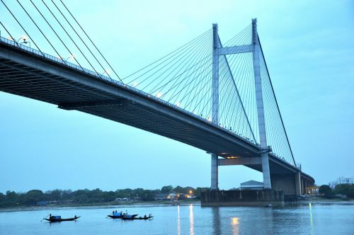 bridge calcutta kolkata