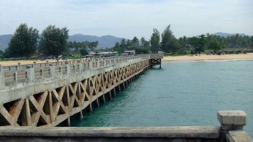 bridge andaman thailand