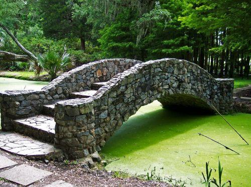 bridge footbridge garden