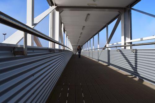 bridge flyover metal construction