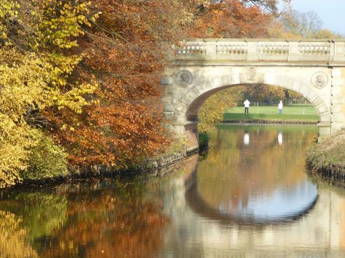 bridge bach autumn