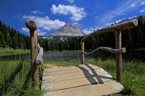 bridge south tyrol dolomite