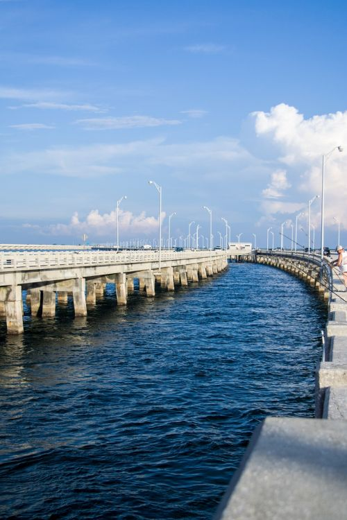bridge sky pier