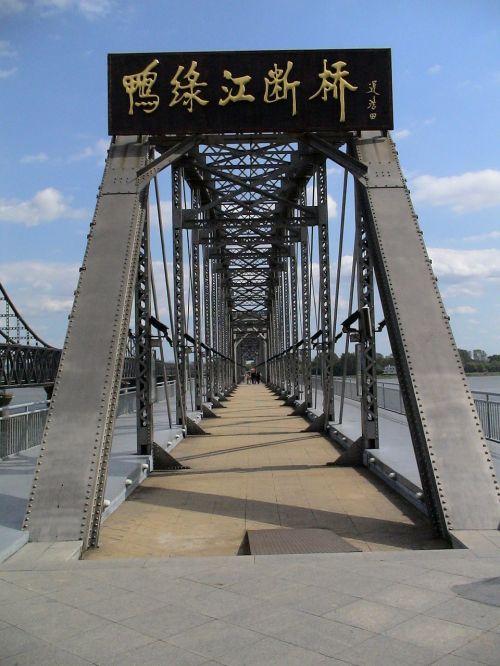 bridge china dandong