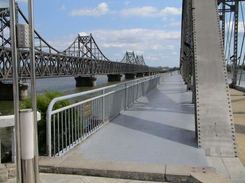 bridge iron bridge steel