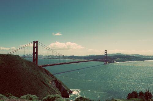 bridge golden gate bridge ocean