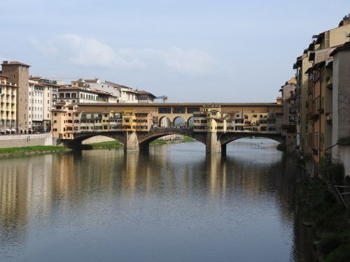 bridge ponte vecchio italy