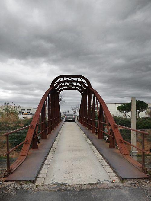 bridge iron bridge cast iron