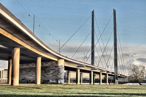 bridge architecture rheinbrücke