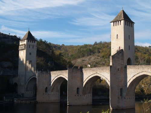 bridge cahors lot