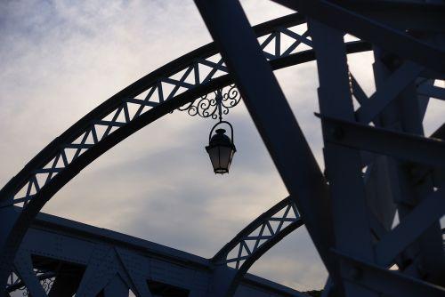 bridge the iron bridge the scenery