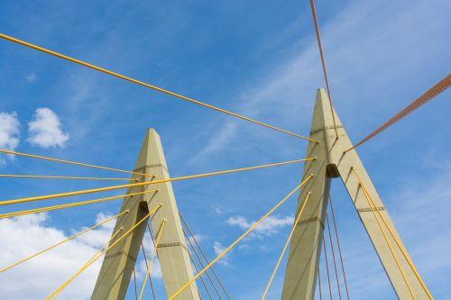 bridge pylons millenium