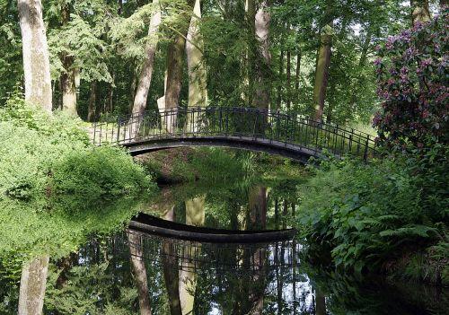 bridge park pond
