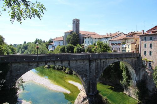 bridge friuli northeast-italy