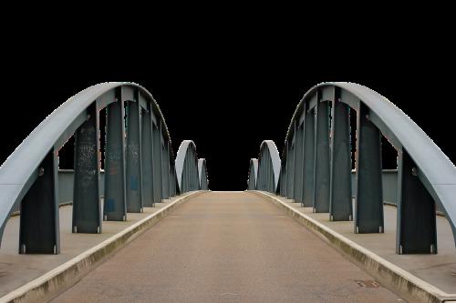 bridge fulda steel structure