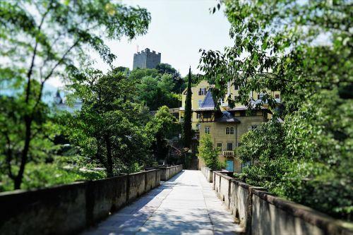 bridge meran summer