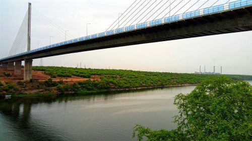 bridge hanging bridge iron bridge