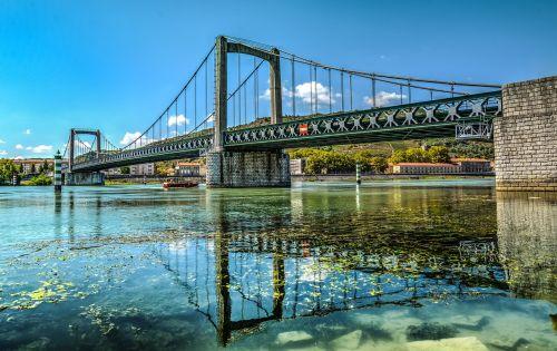 bridge river rhone