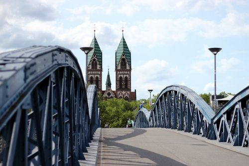 bridge view freiburg